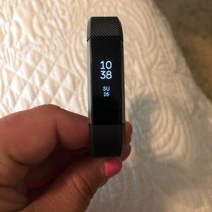 Black Alta Fitbit Watch